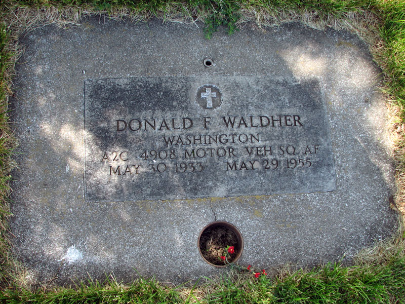 Donald F Waldher