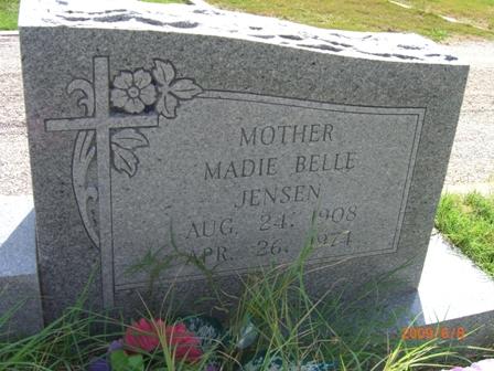 Madie Belle <i>Jensen</i> Reed