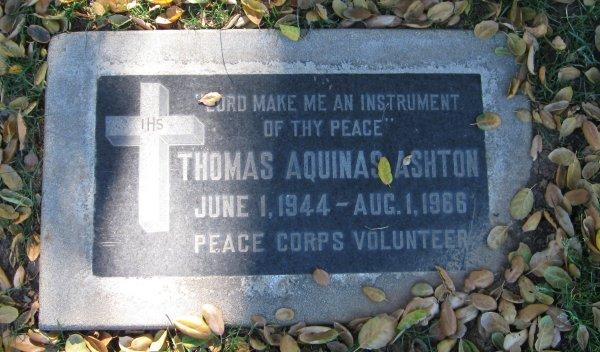 Thomas Aquinas Ashton