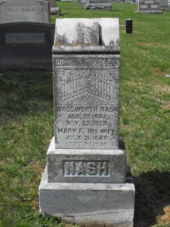 Pvt Wadsworth H. Wads Nash