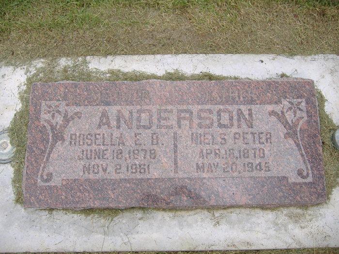 Rosella Elizabeth <i>Bryner</i> Anderson