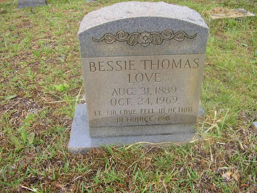 Bessie <i>Thomas</i> Love