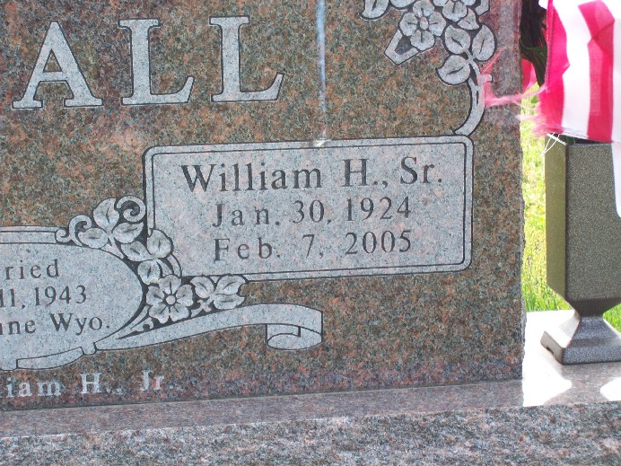 William Herbert Bill Arnall, Sr