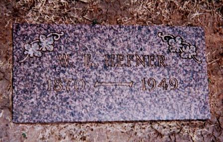 William E Hefner