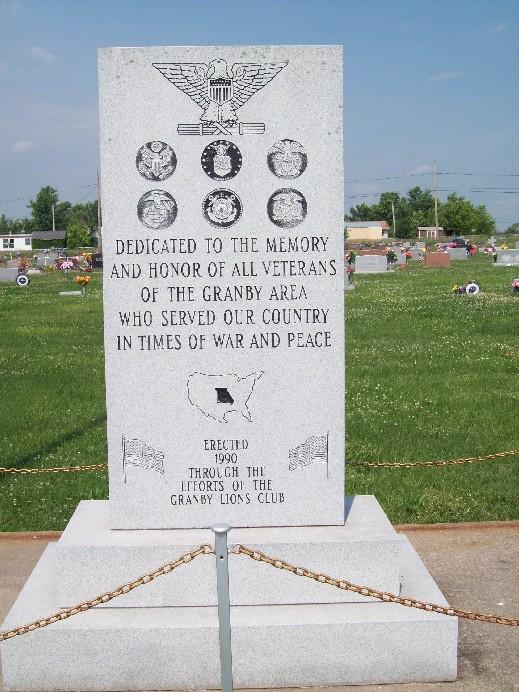 Granby Memorial Cemetery