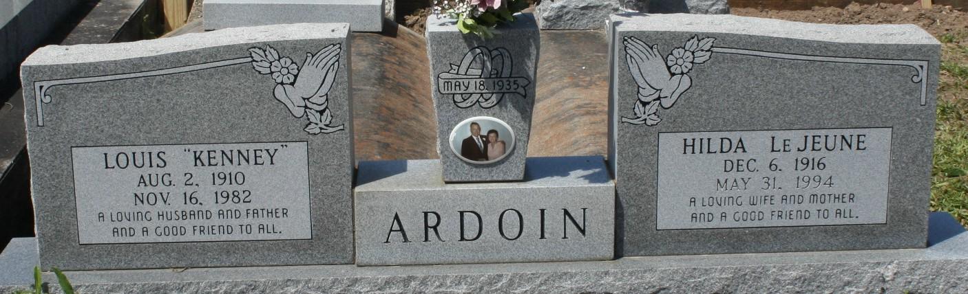 Hilda <i>LeJeune</i> Ardoin