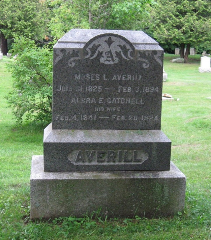 Albra E. <i>Gatchell</i> Averill