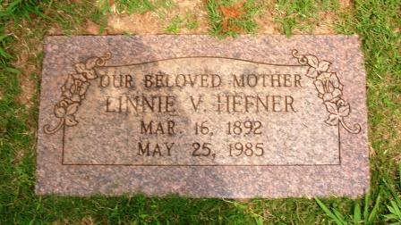 Linnie Victoria <i>Thompson</i> Hefner