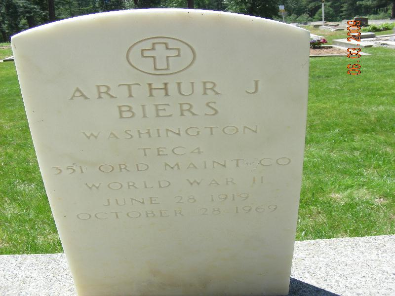 Arthur J Biers
