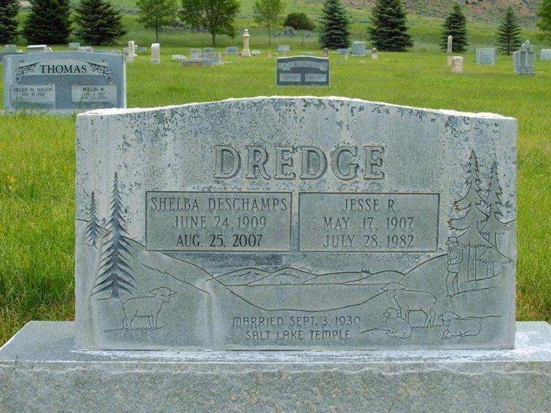 Shelba <i>Deschamps</i> Dredge