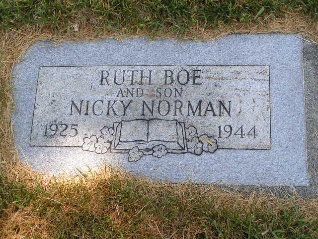 Ruth I <i>Klingler</i> Boe