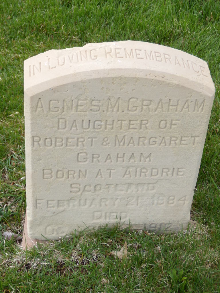 Agnes M Graham