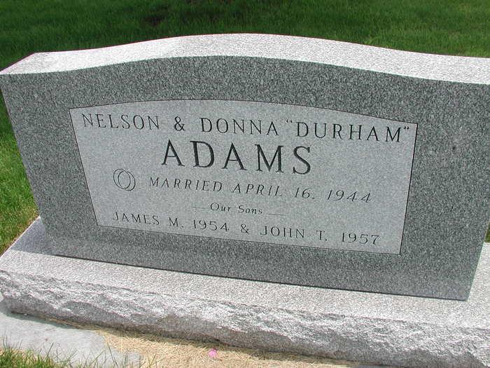 Nelson LeRoy Adams
