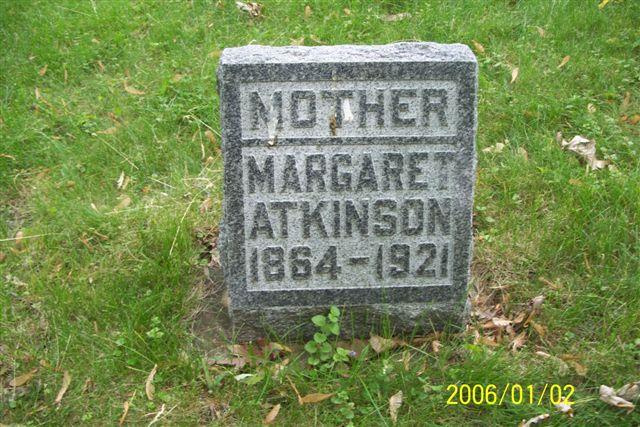 Margaret Susan <i>Newhouse</i> Atkinson