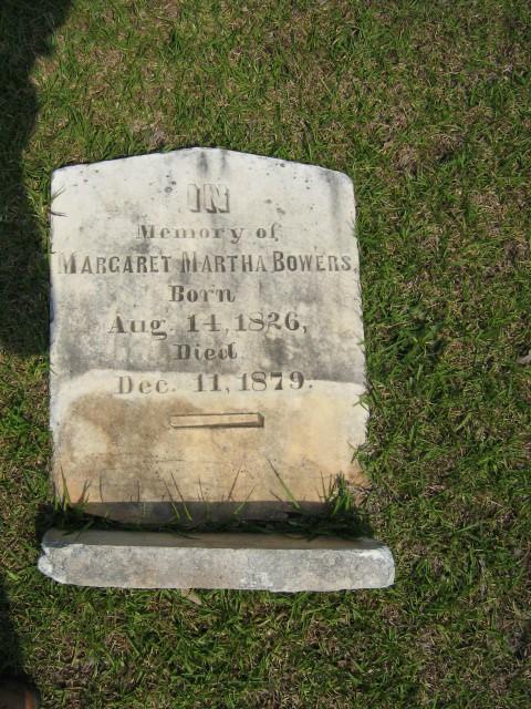 Margaret Martha <i>Dominick</i> Bowers