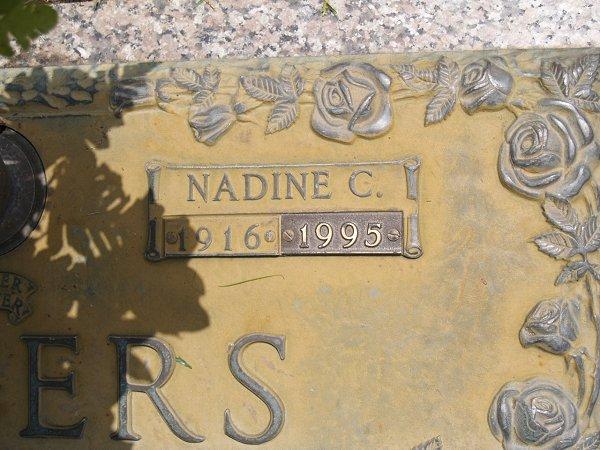 Nadine Brown <i>Cooksey</i> Rogers