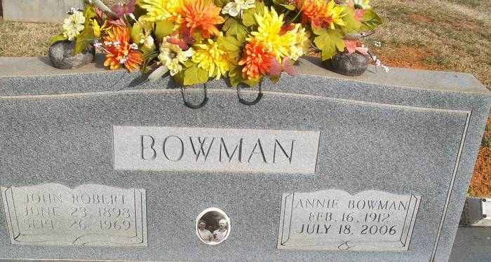 Annie <i>Bowman</i> Bowman