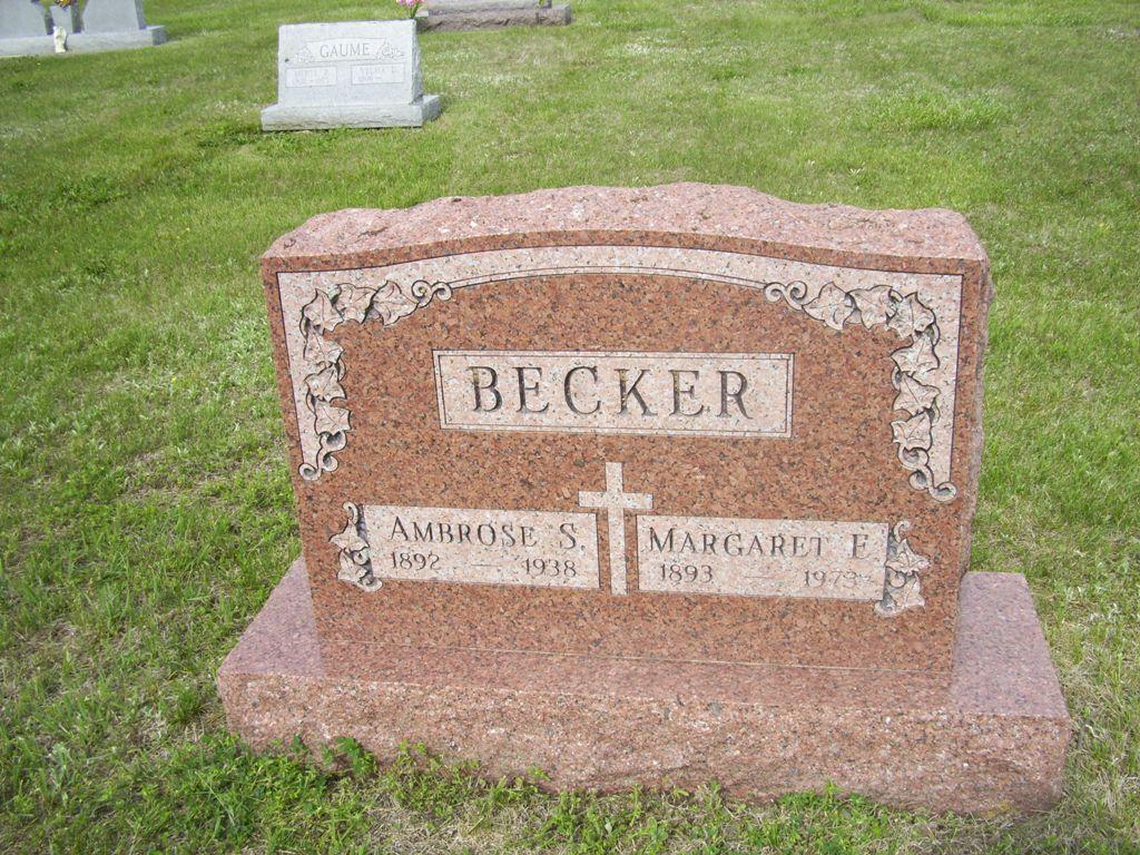 Margaret Elizabeth <i>Ladner</i> Becker