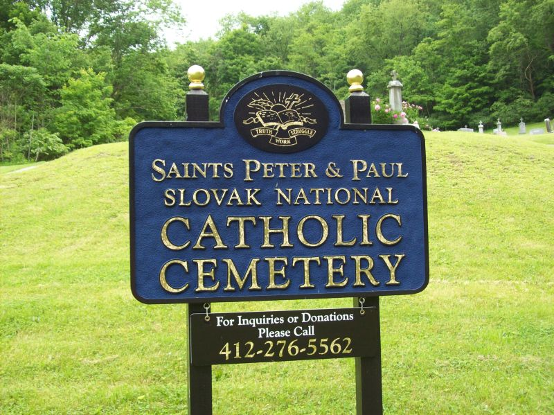 Saints Peter and Paul Slovak National Cemetery