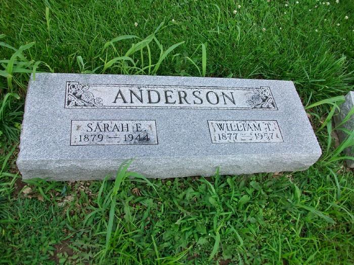 Sarah Ellen <i>Snider</i> Anderson