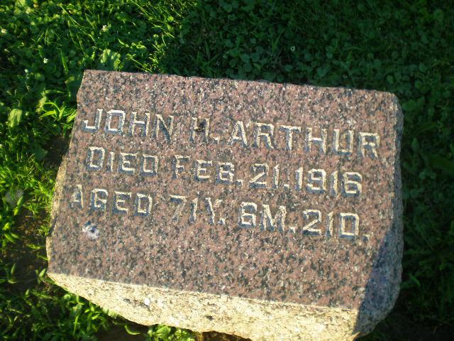 Pvt John H Arthur