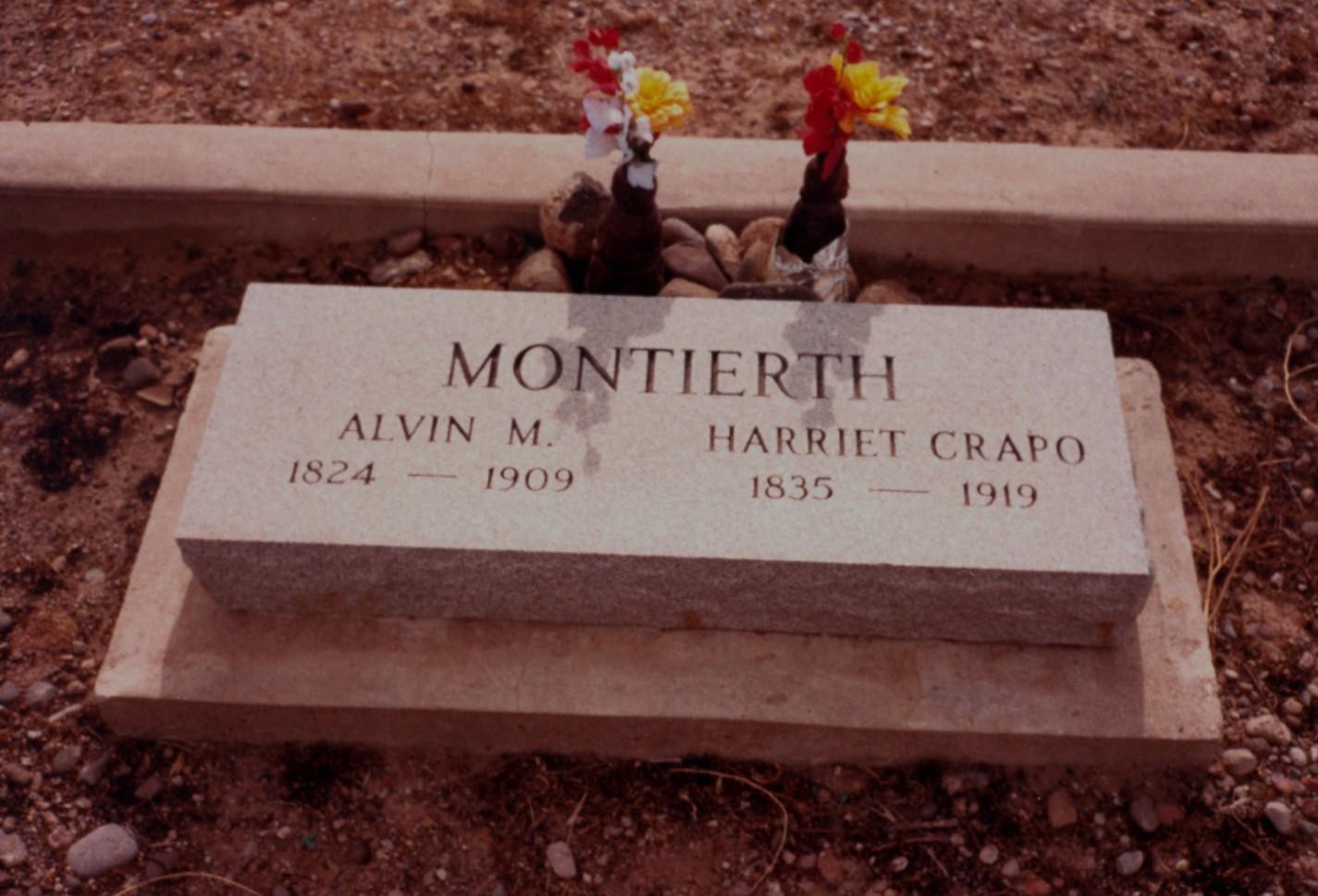 Harriet West <i>Crapo</i> Montierth