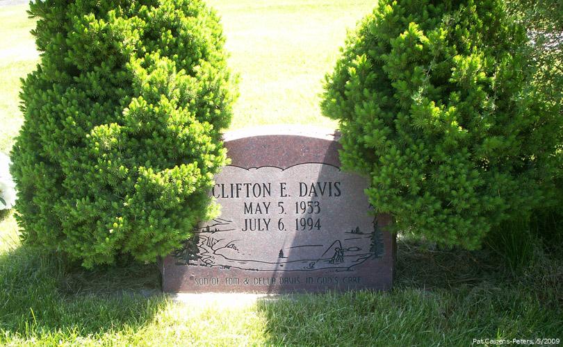 Clifton Edward Kip Davis