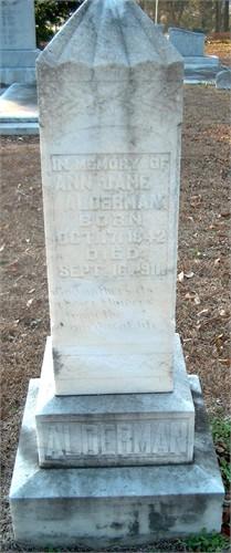 Ann Jane Alderman