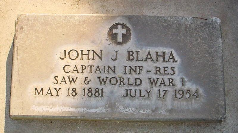 John J Blaha