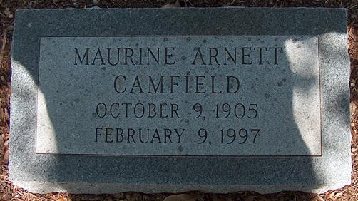 Maurine <i>Arnett</i> Camfield