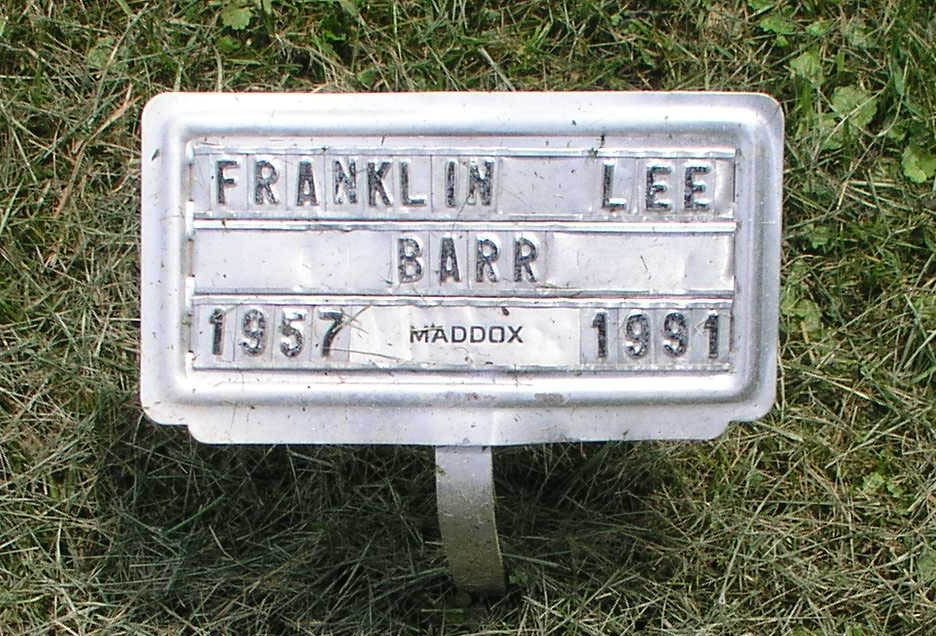 Franklin Lee Barr
