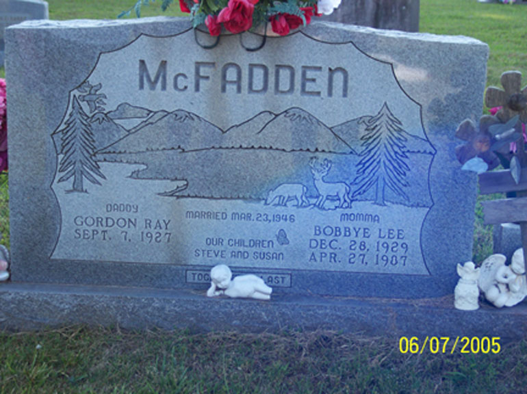 Bobbye Lee <i>Dinwiddie</i> McFadden