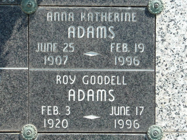 Roy Goodell Adams