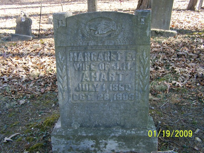 Margaret E <i>Nunn</i> Ahart