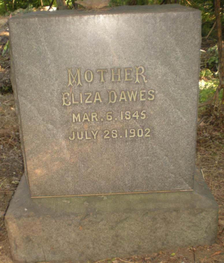 Eliza <i>Dawes</i> Bewley