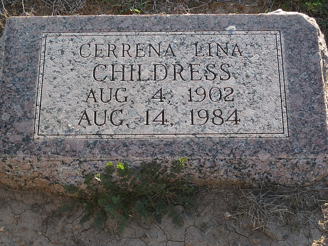 Cerrena Lina <i>Bryant</i> Childress