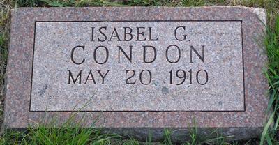 Isabel Mae <i>Grindle</i> Condon