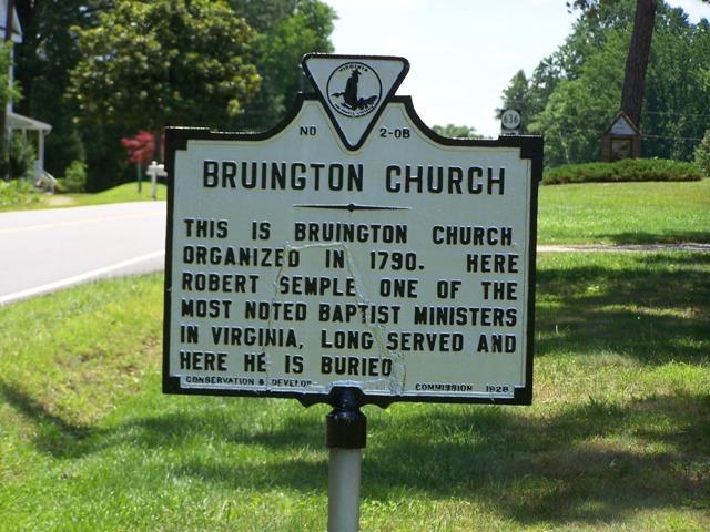 Bruington Baptist Church Cemetery