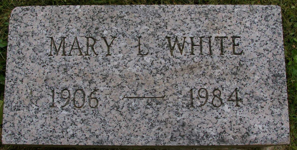 Mary Louise White