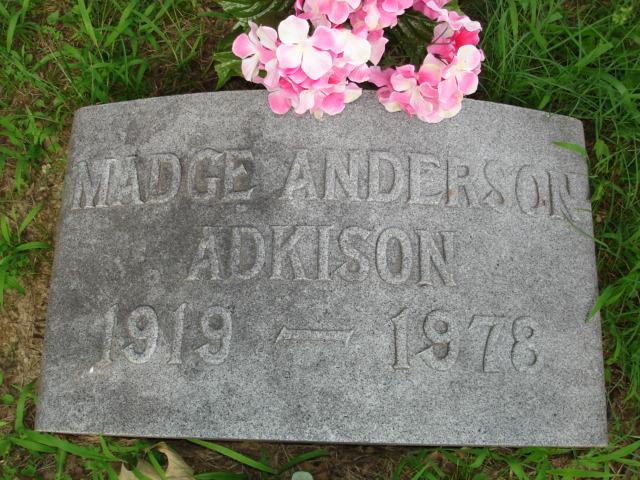 Madge <i>Anderson</i> Adkison