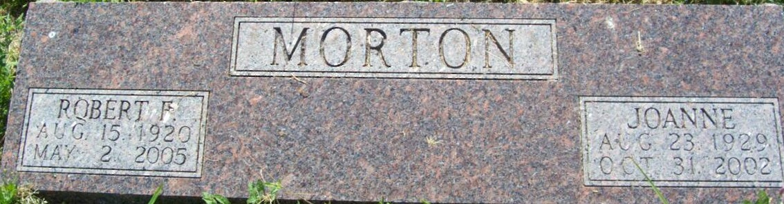 Robert F Morton