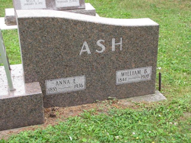 Anna Eva <i>Mosier</i> Ash