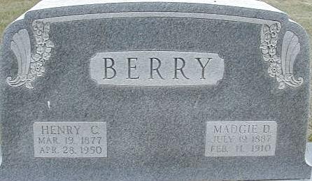 Margaret Debbie Madgie <i>Wolgamott</i> Berry