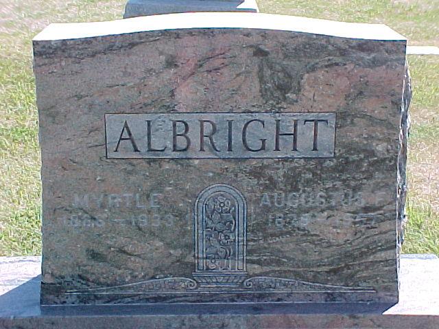 Myrtle <i>Rood</i> Albright