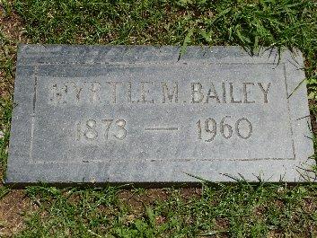 Myrtle Migonette <i>Monroe</i> Bailey