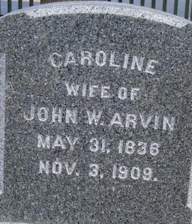 Caroline <i>Power</i> Arvin
