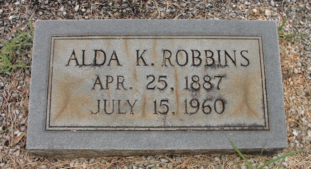 Alda <i>King</i> Robbins
