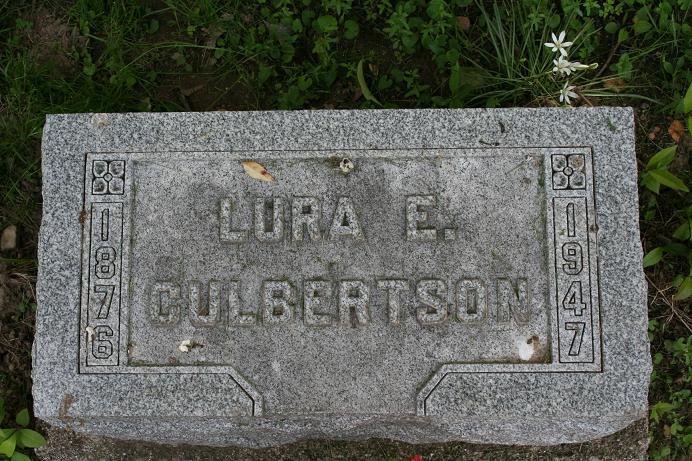 Lura E. <i>Winters</i> Culbertson