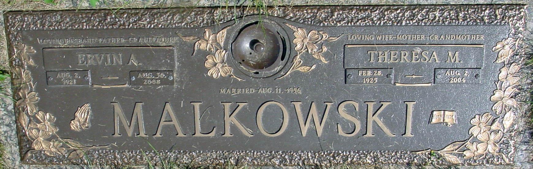 Theresa M. <i>Scalzi</i> Malkowski