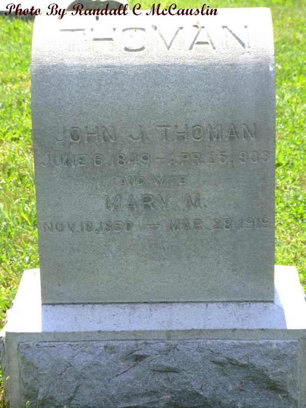 John J Thoman